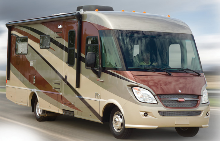 Unique Last Week, Winnebago Gave Me A Sneak Peek  Drive 55 And You Might Get 15 Mpg Or Better Increase The Speed To 65, And Youre Looking At Closer To 12 Mpg My Overall Impression Is That The Via Is Outstanding I Like The Easy Driveability