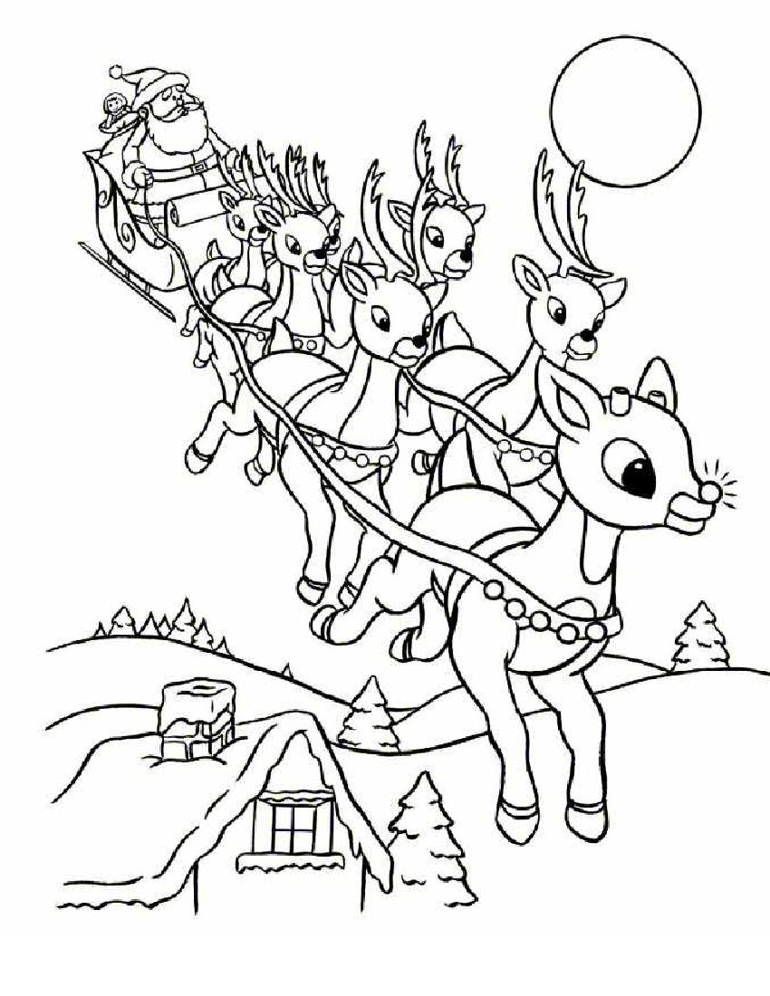 christmas coloring pages34